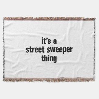 その道路掃除人の事 スローブランケット