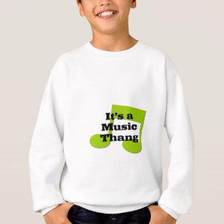 その音楽Thang スウェットシャツ