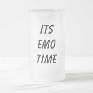 そのEmoの時間マグ フロストグラスビールジョッキ