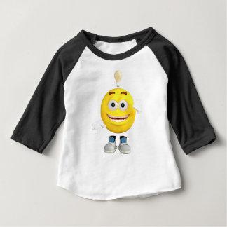 そのEmojiが考えることを愛するBrainy氏 ベビーTシャツ