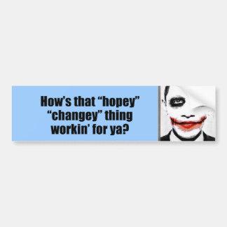 そのhopeyのchangeyの事のworkinはいかにyaのためですか。 バンパーステッカー