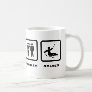 そりのホッケー コーヒーマグカップ
