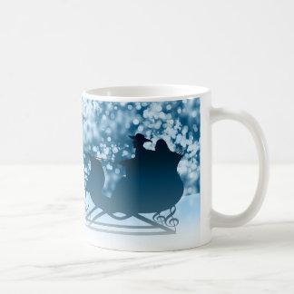 そりの乗車 コーヒーマグカップ