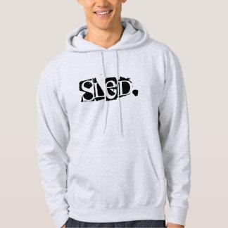 """""""そり""""上部半島""""906""""スノーモービルのフード付きスウェットシャツ パーカ"""