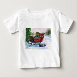 そりACEOの乳児のTシャツ ベビーTシャツ