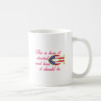 それがいかに始まったか コーヒーマグカップ
