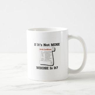 それが私の物でなければ コーヒーマグカップ
