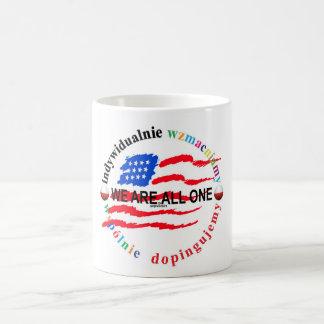 それぞれ権限を与えて下さい*一まとめに勇気をつけて下さい コーヒーマグカップ