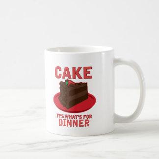 、それであるものが夕食のためあります固めて下さい コーヒーマグカップ
