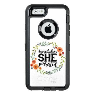それにもかかわらずおもしろい彼女はかわいいヴィンテージのミーム主張しました オッターボックスディフェンダーiPhoneケース