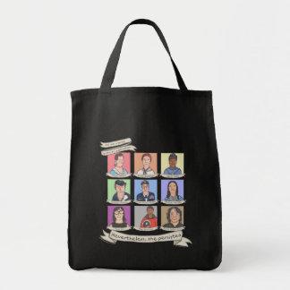 それにもかかわらず、彼女はバッグは主張しました(暗い) トートバッグ