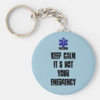 それによってがあなたの緊急事態ではない平静を保って下さい キーホルダー
