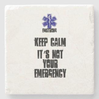 それによってがあなたの緊急事態ではない平静を保って下さい ストーンコースター