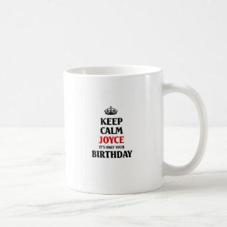 それによってがあなたの誕生日だけである穏やかなジョイスを保って下さい コーヒーマグカップ