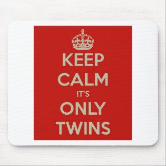 それによってが双生児だけである平静を保って下さい マウスパッド