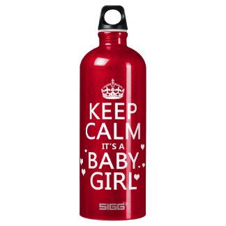 それによってが女の赤ちゃんである平静を保って下さい ウォーターボトル