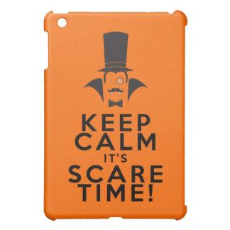 それによってが恐怖の時間iPadの場合である平静を保って下さい iPad Mini カバー