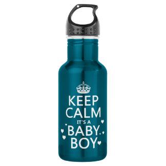 それによってが男の赤ちゃんである平静を保って下さい ウォーターボトル