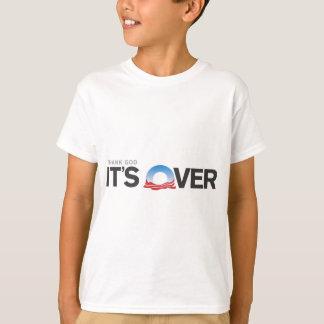 それによってが終わる神を感謝していして下さい Tシャツ