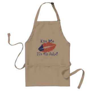 それによってが7月の4日独立記念日BBQである私に接吻して下さい スタンダードエプロン