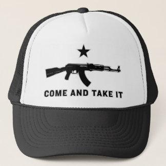 それに帽子を取ります来て下さい キャップ