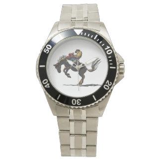 それに強く反対する馬乗って下さい 腕時計