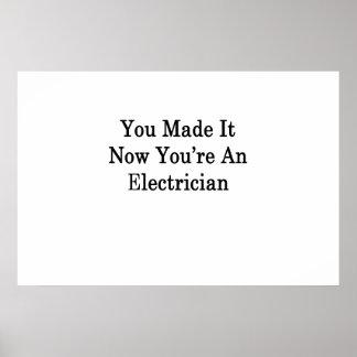 それに電気技師をあなたは今しました ポスター