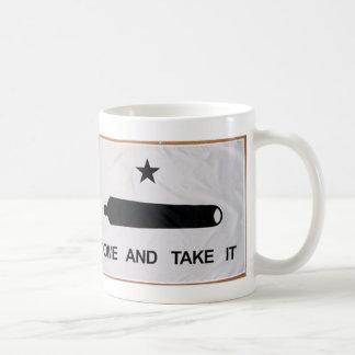「それに」旗を取ります来て下さい コーヒーマグカップ