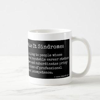 それにSindromeのコーヒー・マグをするまでそれを偽造して下さい コーヒーマグカップ