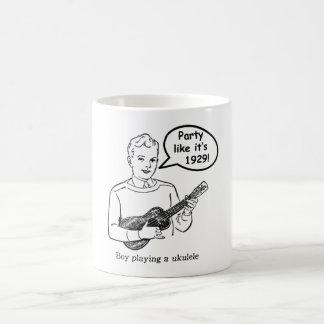 それのようなパーティーは1929年です! (ウクレレ) コーヒーマグカップ