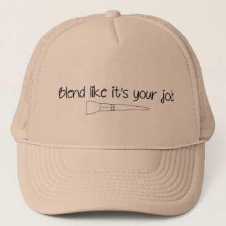 それのようなブレンドはあなたの仕事のトラック運転手の帽子です キャップ
