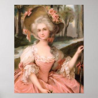 それのような花型女性歌手は1799年です ポスター