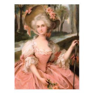 それのような花型女性歌手は1799年です ポストカード