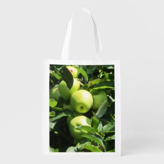 それのりんごの写真が付いているエコバッグ エコバッグ