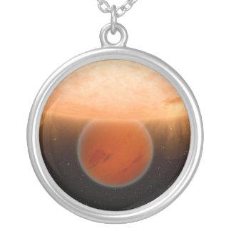 それの回りを回るGliese 436 BのExtrasolar惑星は日曜日です カスタムネックレス
