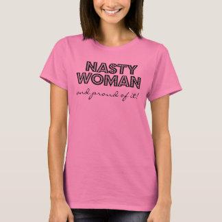 それの扱いにくい女性そして誇りを持った Tシャツ