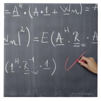 それの算術の黒板、クローズアップ タイル