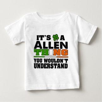 それはあなたが理解しないアレンの事です ベビーTシャツ