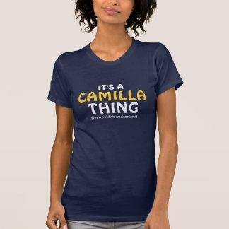 それはあなたが理解しないカミラの事です Tシャツ
