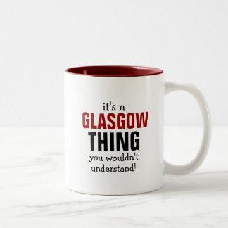 それはあなたが理解しないグラスゴーの事です ツートーンマグカップ