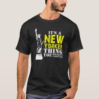 それはあなたが理解しないニューヨーカーの事です Tシャツ