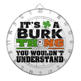 それはあなたが理解しないBurkの事です ダーツボード