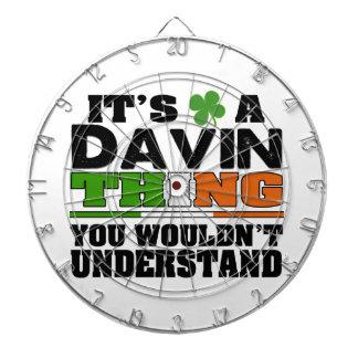 それはあなたが理解しないDavinの事です ダーツボード