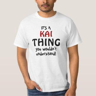 それはあなたが理解しないKaiの事です Tシャツ