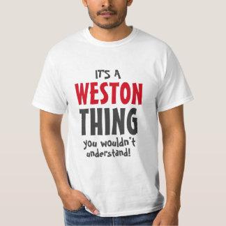 それはあなたが理解しないWestonの事です! Tシャツ