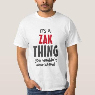 それはあなたが理解しないZakの事です Tシャツ