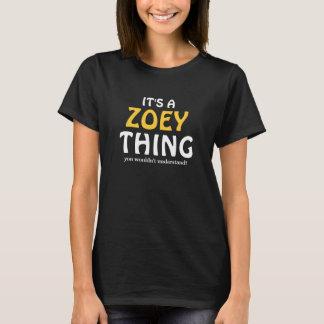 それはあなたが理解しないZoeyの事です Tシャツ