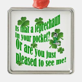 それはあなたのポケットの小妖精あります メタルオーナメント
