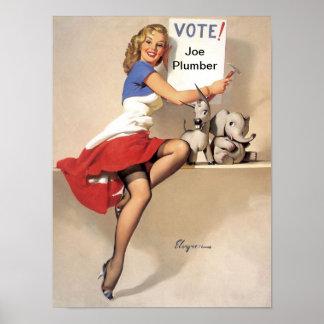 それはあなたまであります- Xのために投票して下さい ポスター