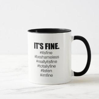 それはうまくあります マグカップ